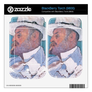 Jozsef Rippl-Ronai - My brother Odon Decal For BlackBerry