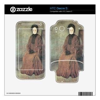 Jozsef Rippl-Ronai - My grandmother HTC Desire S Decal