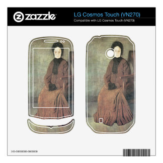 Jozsef Rippl-Ronai - My grandmother Decal For LG Cosmos Touch