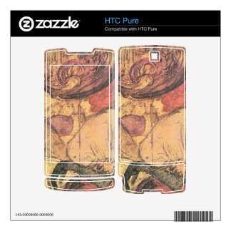 Jozsef Rippl-Ronai - Rouge Decal For The HTC Pure