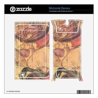 Jozsef Rippl-Ronai - Rouge Motorola Devour Skins