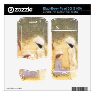 Jozsef Rippl-Ronai - Under the Hollyhocks BlackBerry Pearl Decal