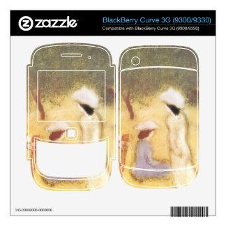 Jozsef Rippl-Ronai - Under the Hollyhocks BlackBerry Curve 3G Skin