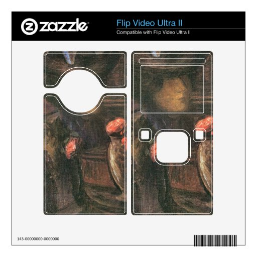 Jozsef Rippl-Ronai - Young Paris female worker Decals For Flip Ultra II