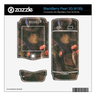Jozsef Rippl-Ronai - Young Paris female worker Decals For BlackBerry