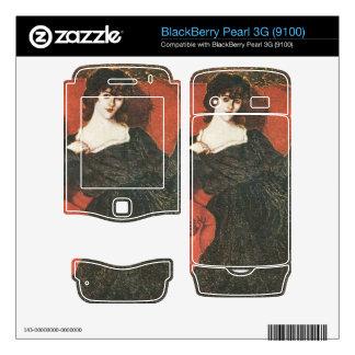 Jozsef Rippl-Ronai - Zorka in Black BlackBerry Pearl Skin