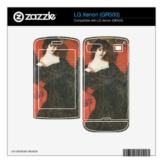 Jozsef Rippl-Ronai - Zorka in Black Decals For LG Xenon