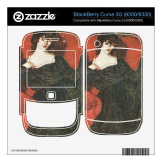 Jozsef Rippl-Ronai - Zorka in Black BlackBerry Curve Skin