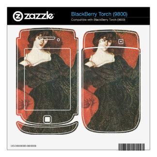Jozsef Rippl-Ronai - Zorka in Black Skin For BlackBerry