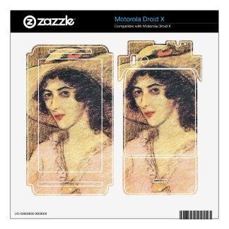 Jozsef Rippl-Ronai - Zorka Skin For Motorola Droid X