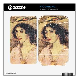 Jozsef Rippl-Ronai - Zorka Decals For HTC Desire HD