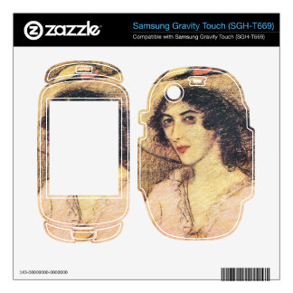 Jozsef Rippl-Ronai - Zorka Samsung Gravity Touch Skin
