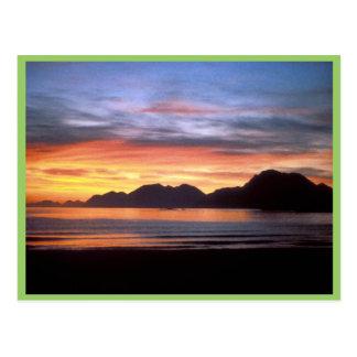 JP Adak sunset from Kuluk Beach Postcards