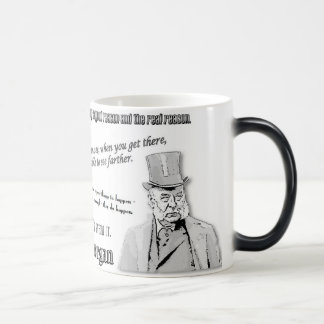 JP Morgan Quotes 11 Oz Magic Heat Color-Changing Coffee Mug
