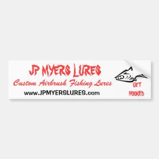 JP MYERS LURES, Bumper Sticker