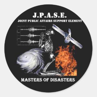 JPASE World Tour stickers