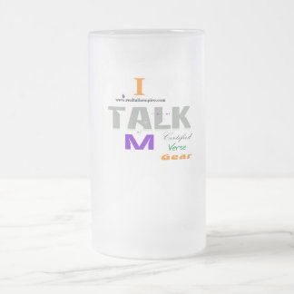 Jpeg - Another I Am Certified Frosted Glass Beer Mug