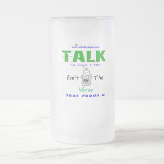 Jpeg - Bite The Verse Frosted Glass Beer Mug