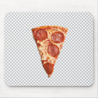 JPEG CHEESY PIZZA SLICE Mouse Pad