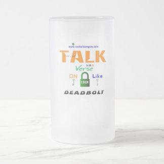 Jpeg - Deadbolt Frosted Glass Beer Mug