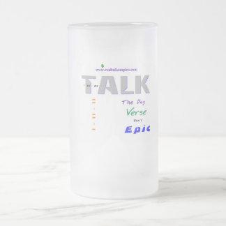 Jpeg - epic final frosted glass beer mug