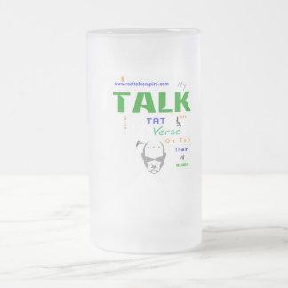 Jpeg - Goons TALK TAT Frosted Glass Beer Mug