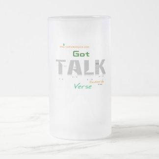Jpeg - GOT talk Frosted Glass Beer Mug