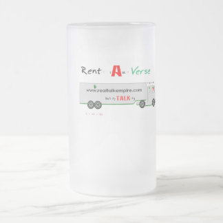 Jpeg - HOWs my Driving Frosted Glass Beer Mug