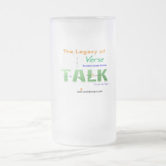Jpeg - Legacy of Verse Frosted Glass Beer Mug