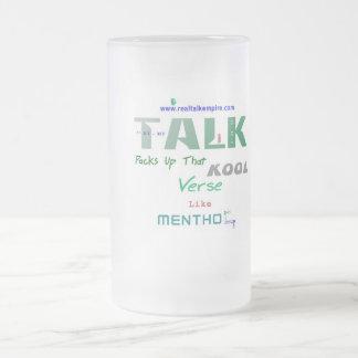 Jpeg - Menthol Frosted Glass Beer Mug