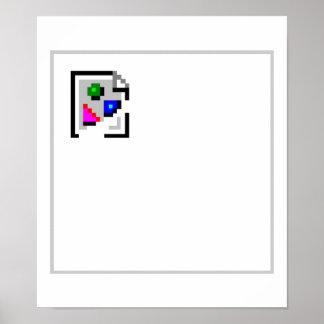 JPEG quebrado del GIF del png del JPG de la imagen Póster