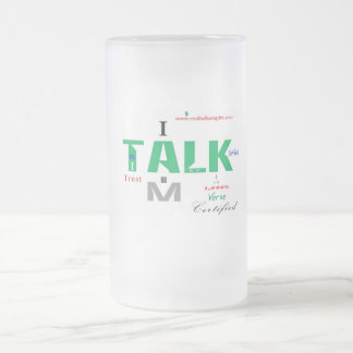 Jpeg - TALK CERtified Frosted Glass Beer Mug