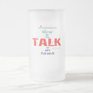 Jpeg - Town - Finall Frosted Glass Beer Mug