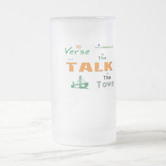 Jpeg - TOWN Frosted Glass Beer Mug