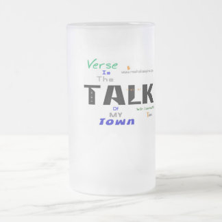 Jpeg - Town - Pt Two Frosted Glass Beer Mug