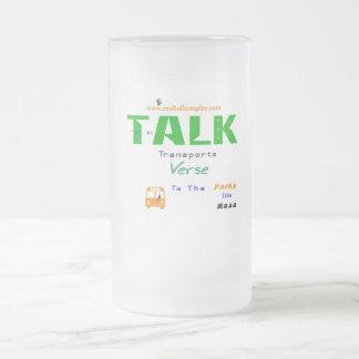 Jpeg - Transport Parks Frosted Glass Beer Mug