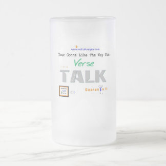Jpeg - Your Gonna Like Frosted Glass Beer Mug