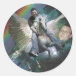 jpg de brian unicorn.3 etiquetas redondas