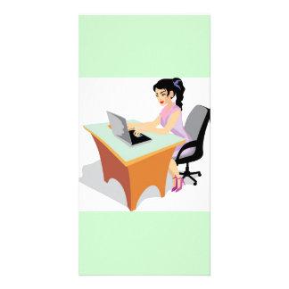 jpg_occupations-021_17192006.jpg Business Woman Custom Photo Card