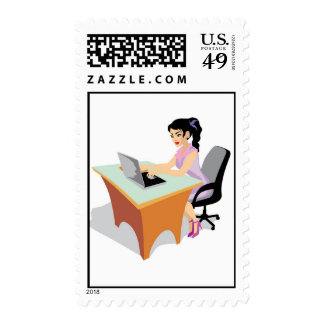 jpg_occupations-021_17192006.jpg Business Woman Postage