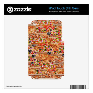 jPizza Decal For iPod Touch 4G