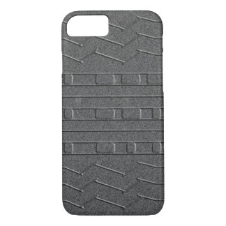 JPL Mars Curiosity Rover Tire Tread Homage Gray iPhone 7 Case