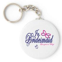 Jr. Bridesmaid/ Butterfly Theme Keychain