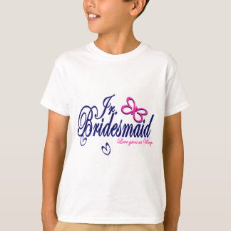 Jr. Bridesmaid/ Butterfly Theme T-Shirt