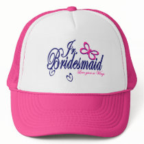 Jr. Bridesmaid/ Butterfly Theme Trucker Hat