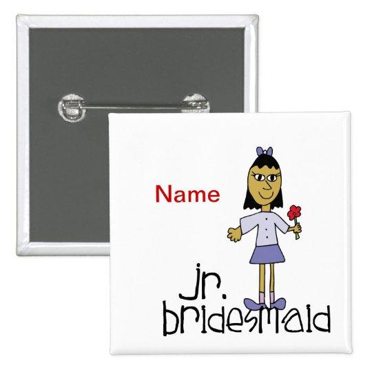 Jr. Bridesmaid Button