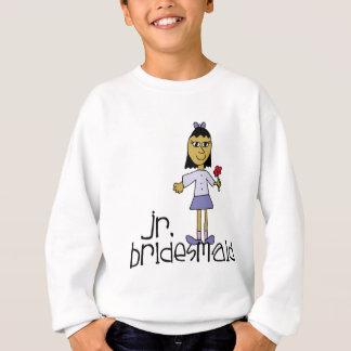 Jr. Bridesmaid Clothes Sweatshirt