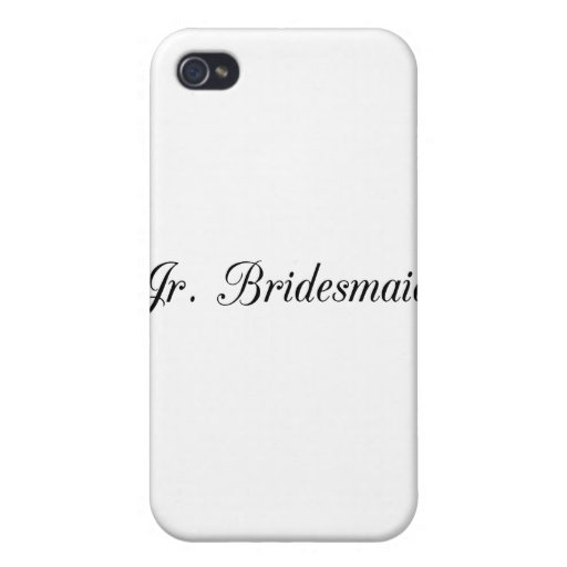 Jr. Bridesmaid Covers For iPhone 4