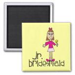 Jr. Bridesmaid Gifts and Favors Fridge Magnet