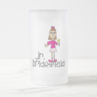 Jr. Bridesmaid Gifts and Favors Frosted Glass Beer Mug